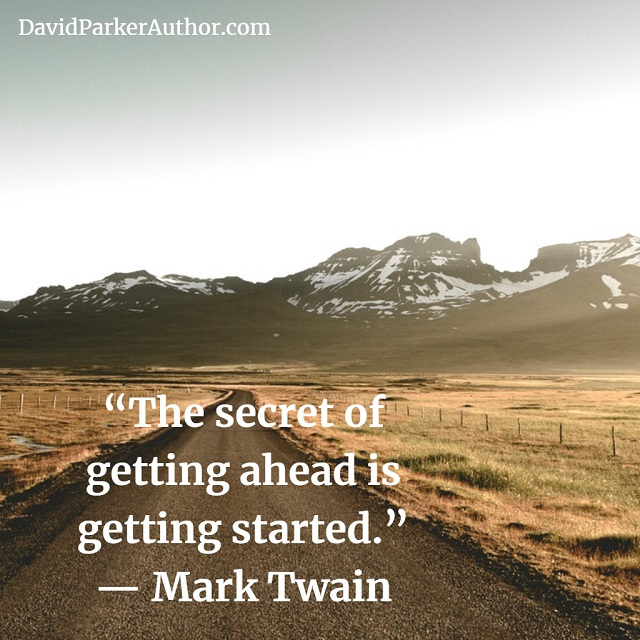 Mark Twain on Getting Ahead